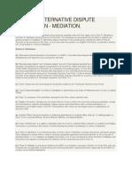 RULE 31 Mediation