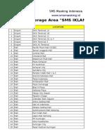 Indosat - Coverage Area SMS Iklan.xlsx