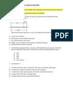Practice Questions Reformat