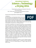 Assessment of a Drying System Based on MW Multimode Heating-Extended