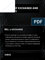 BILLS OF EXCHANGE AND CHECKS.pptx