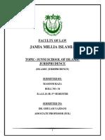 Islamic Jursipredence Assingment. 3rd Sem.