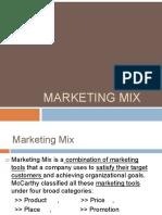 Marketingmix