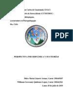 Perspectiva Psicodinamica y Sus Teorías (Exposición)