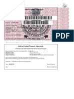 Madhya Pradesh Transport Online Appointment System