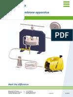 M0803e Pressure Membrane Apparatus Ad8dbbn