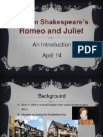 Introducing Romeo and Juliet