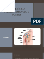Exame Físico Ombro, Cotovelo , Mão Slide