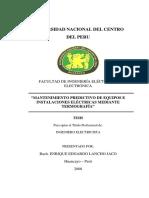Mantenimiento Predictivo de Equipos e Instalaciones Electricas Mediante Termografía