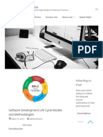 Software Development Models and Methodologies