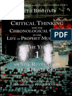 Critical Thinking and the Chronological Quran in the Life of Prophet Muhammad By Laleh Bakhtiar