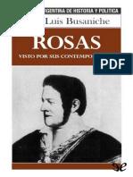 Busaniche Jose Luis. Rosas Visto Por Sus Contemporaneos..PDF · Versión 1