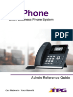 TPG BizPhone Admin Reference Guide