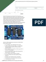 Kendali Motor Dengan Modul Arduino Driver Shield _ Daily Life of Engineering Student