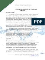 283470537 Estrategia Para La Reparacion de Fugas en Tuberias de Asbesto Docx