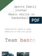 Team sports family journal.docx
