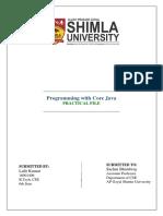 Java Practical File