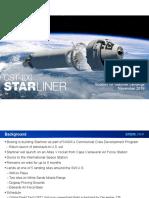 Boeing Space Capsule