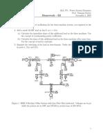 ELL_775_Power_System_Dynamics_Homework_III.pdf