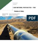 Transporte de Gas Natural Por Gasoductos - Trabajo Final