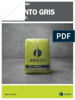 Argos FT CementoGris UsoGeneral