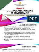 Organization and Its Environment