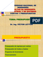 2019-1 Uni Cp13 Teoria de Presupuestos