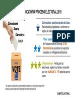Comunicado Comité Electoral 2019
