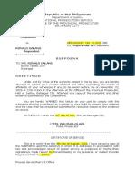 Corrected Subpoena Julia Torres (1)