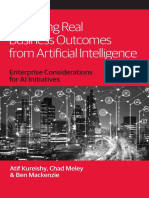 Achieving Real Business Outcomes From Artificial Intelligence
