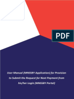 User Guide for Subsequent Payment