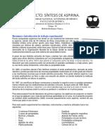 Proyecto Organica Aspirin