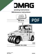 BOMAG BW24R  PTR ROLLER FOR ASPHALT SERVICE MANUAL.pdf