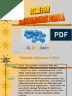 Dosage Form Ringkasan