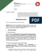 Reposicion Despido Incausado 2019 Exp. 22700 2014-0-1801 Jr La 10