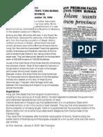 1949 - Islam Wants Own Province