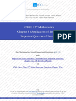 Class 12th Maths Chapter 8 (Application of Integrals) Unsolved.pdf