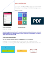 RecyclerView Con Cardview Intent Buscador