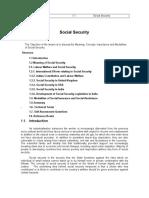 D1251LL P-I Social Security Law