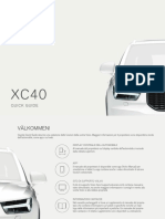 Volvo XC40 Quickguide