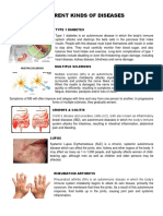 Different Kinds of Diseases