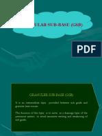 Granular Sub Base Construction