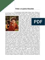 Harry Potter e la pietra filosofale (TRAMA)
