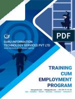 Training Cum Employment Program