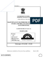 Maintenance Handbook on Protection Fuses and Relays of Electric Locomotives(1) (1)