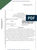 AWgi v. Duncan & Elbaz Trademark MTQ