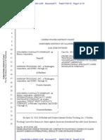 Columbia Casualty Co. v. Gordon Trucking Insurance MTD