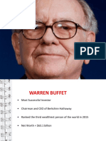 Stock Market - Warren Buffet