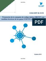 CCN-CERT IA-51-19 Prevención de la campaña de código dañino EMOTET (1)