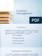 Lecture 02 Inventory Management